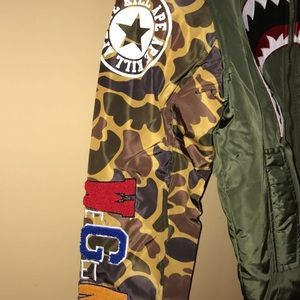 c2e3ba20bdc4 Hudson Outerwear Jackets   Coats - Hudson Outerwear Camo Bomber Jacket Bape  Supreme